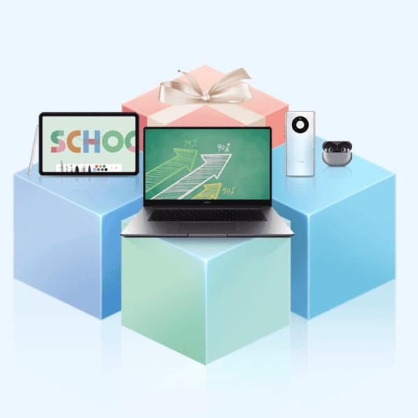 Huawei acompaña a las personas en su regreso a clase con  'Huawei Back to School'