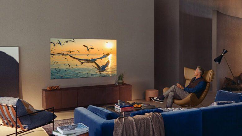 Televisores Neo QLED, experiencia de visualización inmersiva