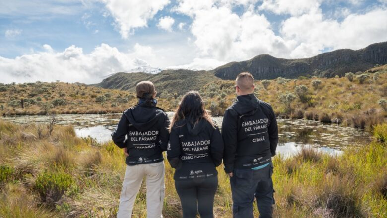 Se gradúa la primera generación de jóvenes embajadores de los páramos de Colombia