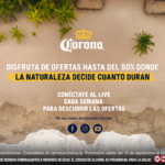 Cerveza Corona lanza las primeras ofertas hechas por la naturaleza para estadías en eco hoteles