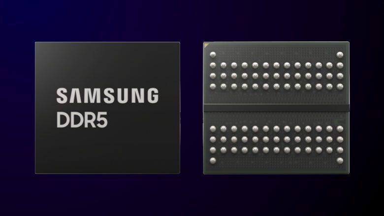 Samsung inicia la producción en masa de la DRAM DDR5 EUV de 14 nm más avanzada